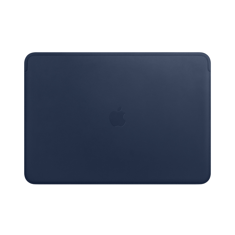 MRQU2ZM/A Leather Sleeve pro MacBook Pro 15 - Midnight Blue