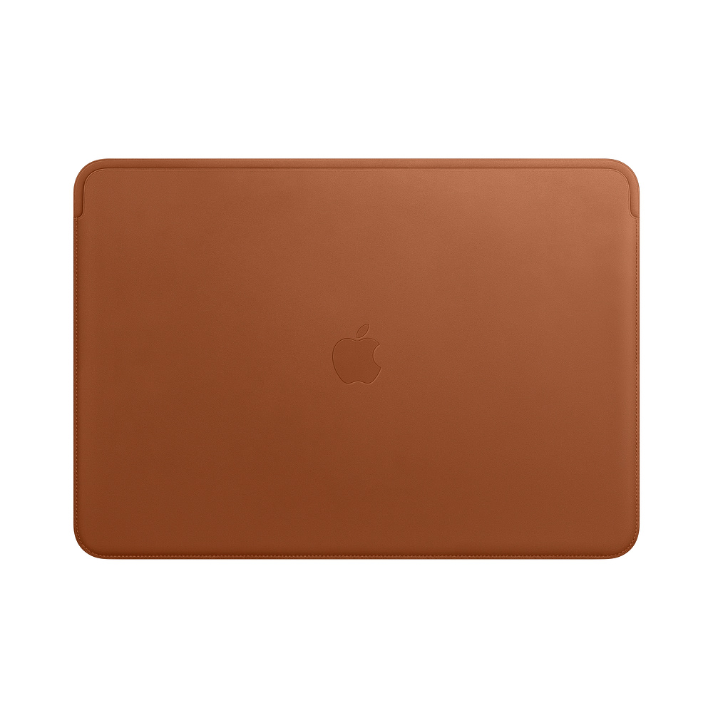 MRQV2ZM/A Leather Sleeve pro MacBook Pro 15 - Saddle Brown