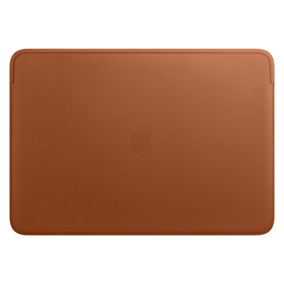 MWV92ZM/A Leather Sleeve pro MacBook Pro 16 - Saddle Brown