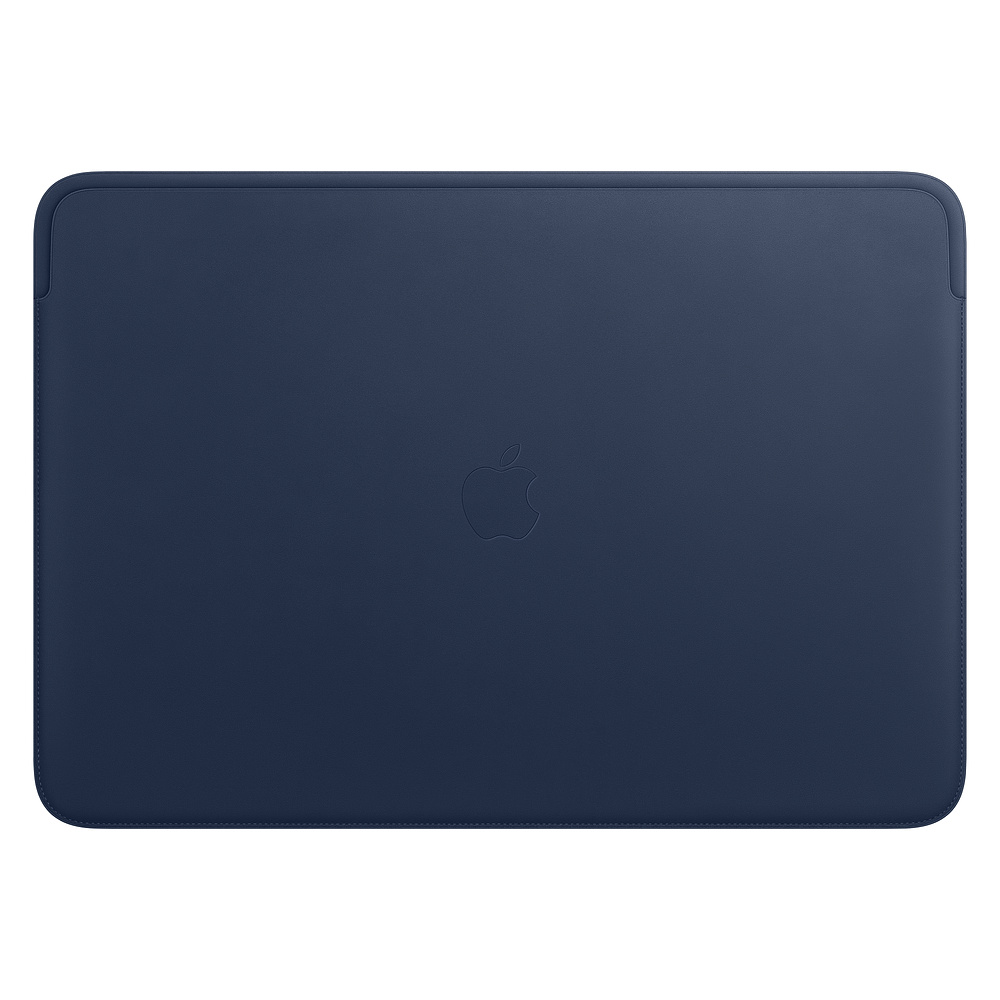 MWVC2ZM/A Leather Sleeve pro MacBook Pro 16 - Midnight Blue