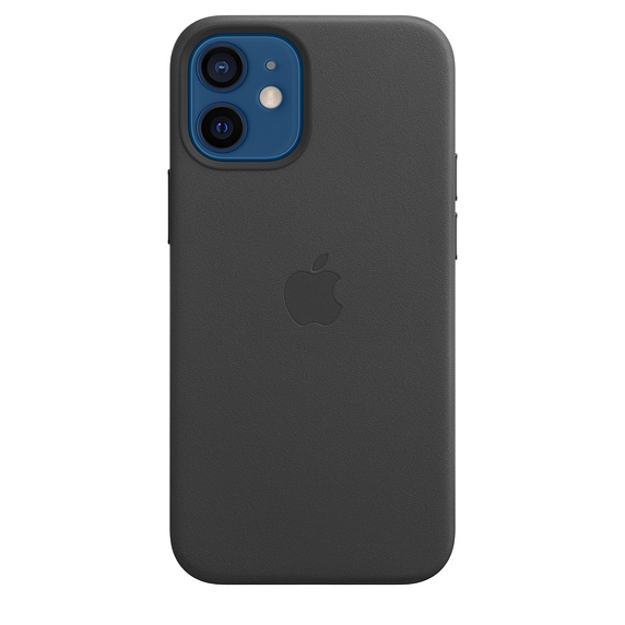 iPhone 12 mini Leather Case with MagSafe Black