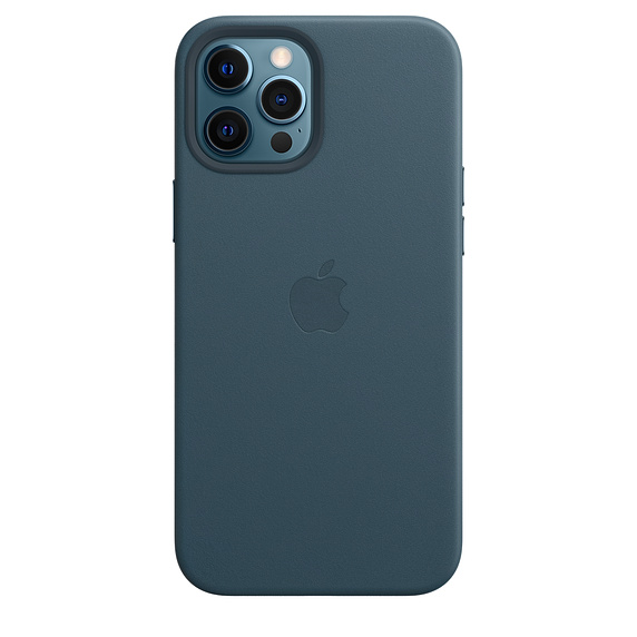 iPhone 12 Pro Max Leather Case with MagSafe B.Blue