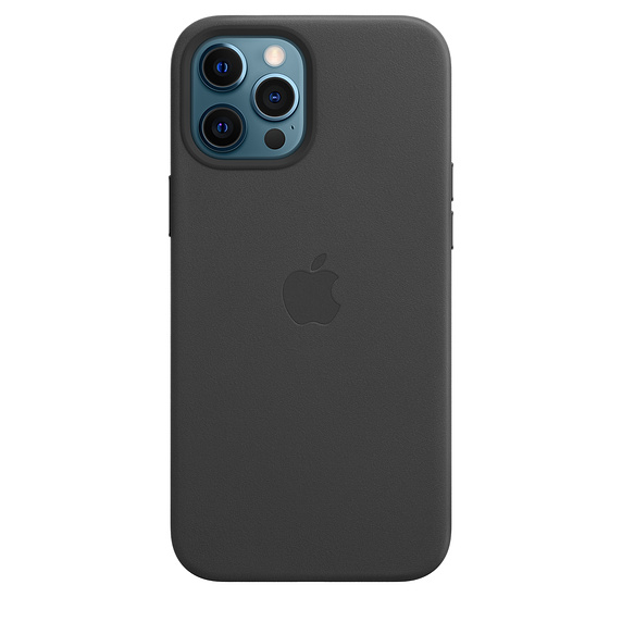 iPhone 12 Pro Max Leather Case with MagSafe Black
