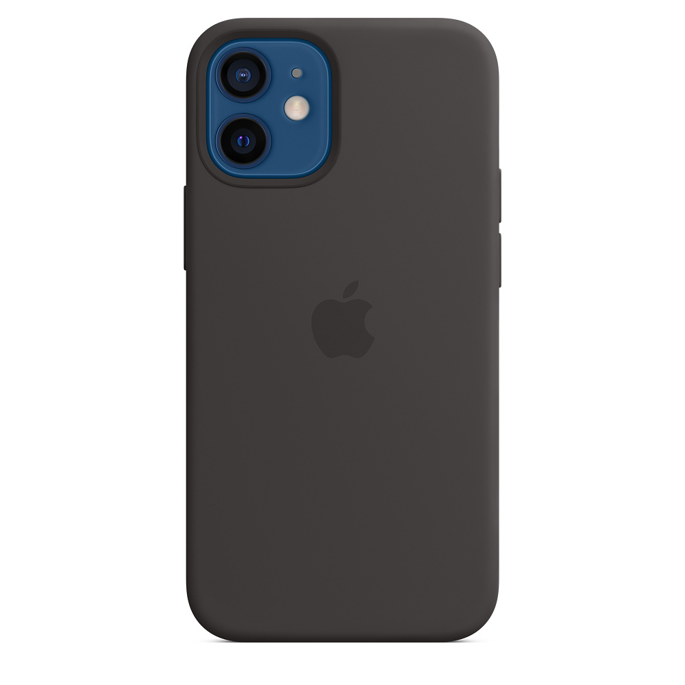 iPhone 12 mini Silicone Case with MagSafe Black