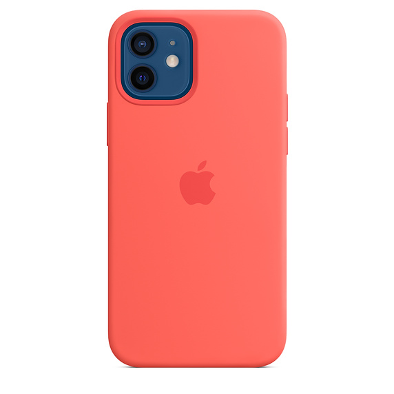iPhone 12/12 Pro Silicone Case w MagSafe P.Cit./SK