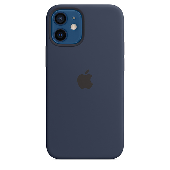 iPhone 12/12 Pro Silicone Case w MagSafe D.Navy
