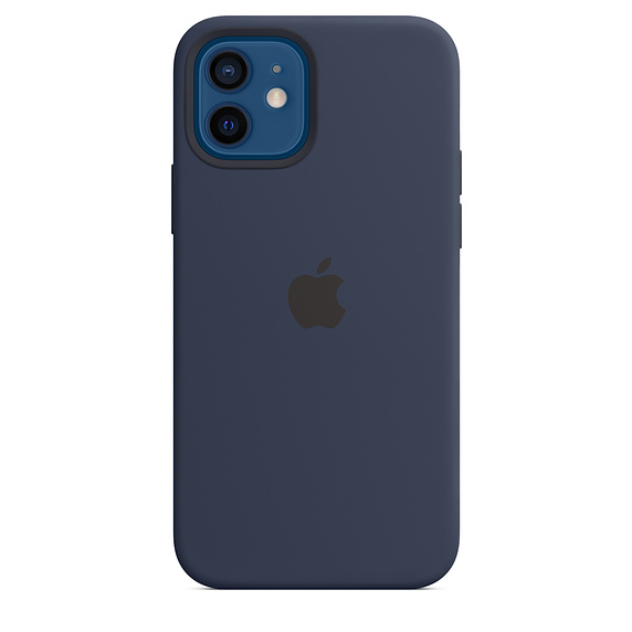 iPhone 12/12 Pro Silicone Case w MagSafe D.Navy/SK