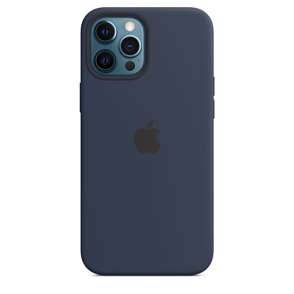 iPhone 12 Pro Max Silicone Case MagSafe D.Navy /SK