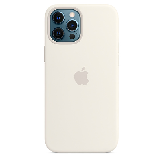 iPhone 12 Pro Max Silicone Case MagSafe White