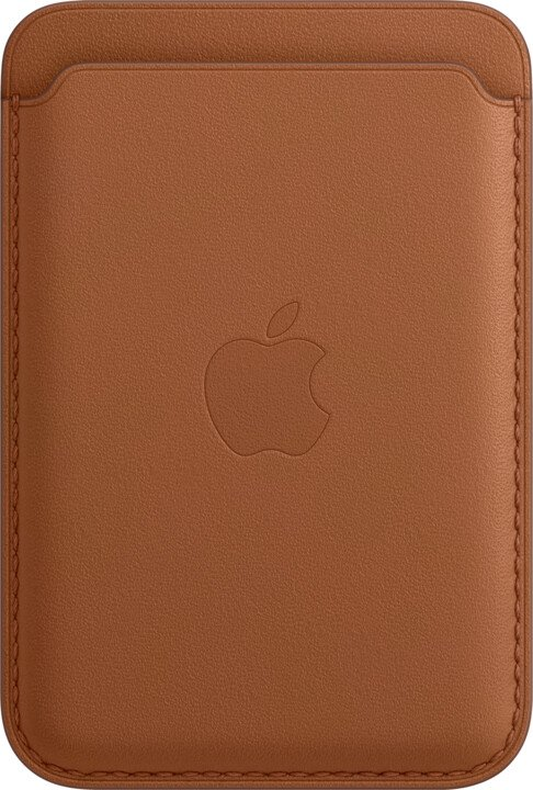 iPhone Leather Wallet with MagSafe S.Brown