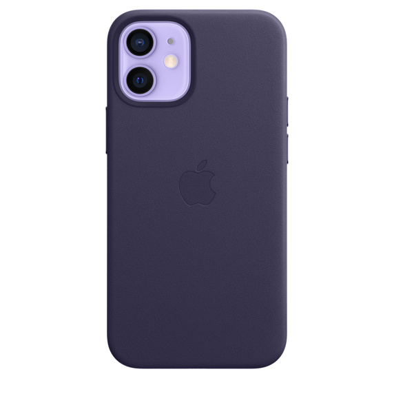 iPhone 12 mini Leather Case with MagSafe D.Violet