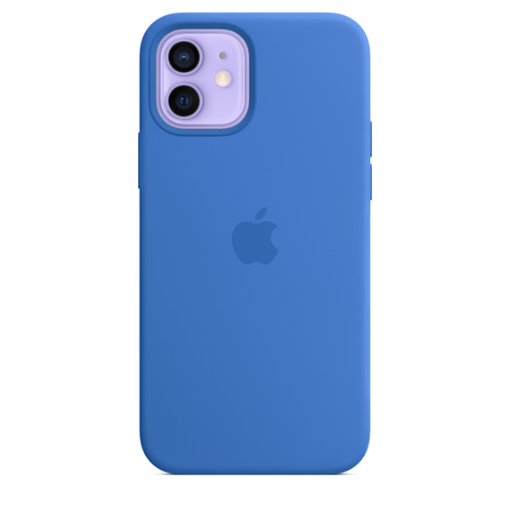 iPhone 12 12Pro Silicone Case wth MagSafe C.Blue