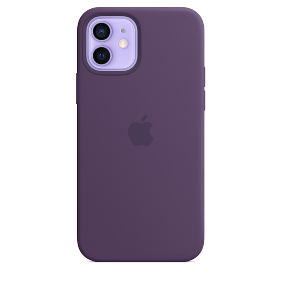 iPhone 12 12Pro Silicone Case wth MagSafe Amethyst