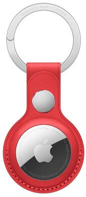 AirTag Leather Key Ring - (PRODUCT)RED / SK