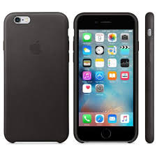 iPhone 6S Leather Case Black
