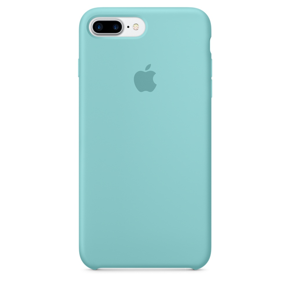 iPhone 7 Plus Silicone Case - Sea Blue