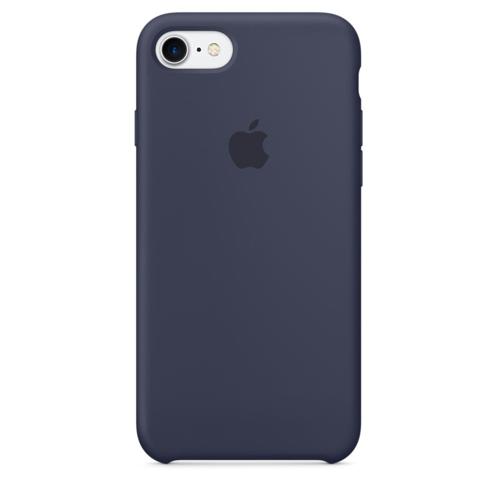 iPhone 7 Silicone Case - Mid Blue
