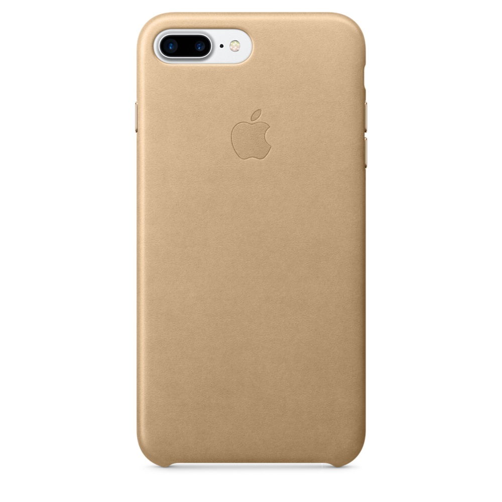iPhone 7 Plus Leather Case - Tan