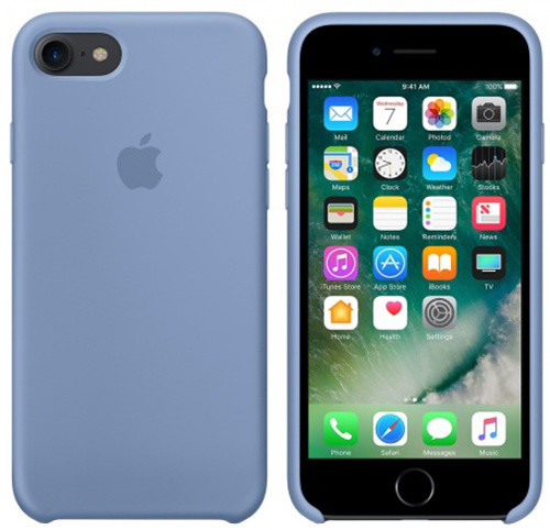 iPhone 7 Silicone Case - Azure