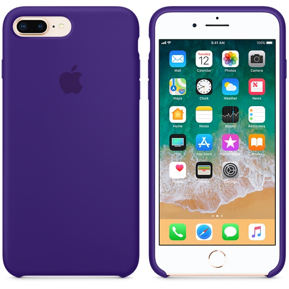 iPhone 8 Plus / 7 Plus Silicone Case - Ult. Violet