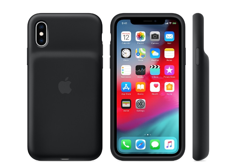 iPhone XS Smart Battery Case - Black