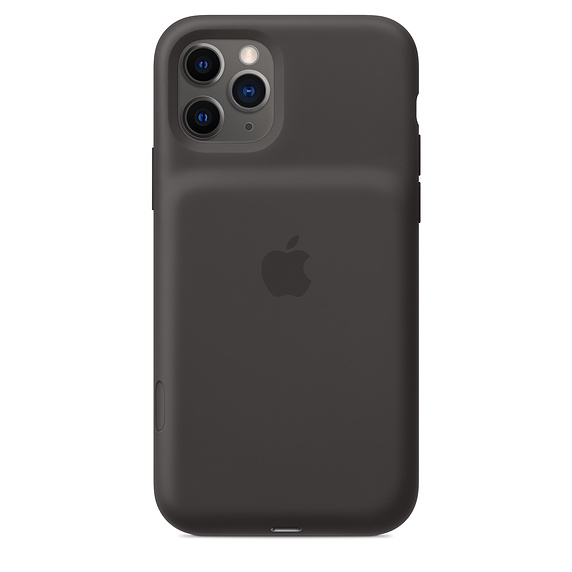 iPhone 11 Pro Sm. Bat. Case - WL Charging - Black
