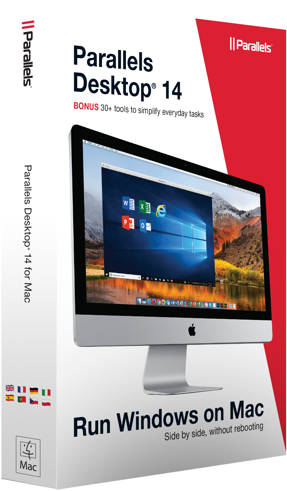 Parallels Desktop 14 for Mac Retail Box EU
