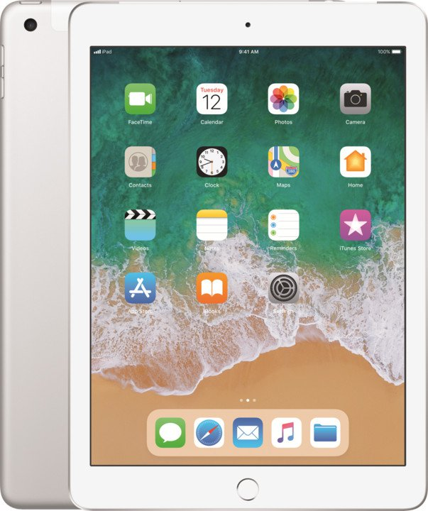 iPad Wi-Fi + Cellular 32GB - Silver