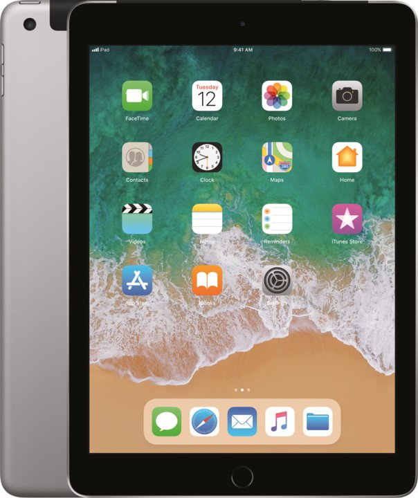 iPad Wi-Fi + Cellular 128GB - Space Grey