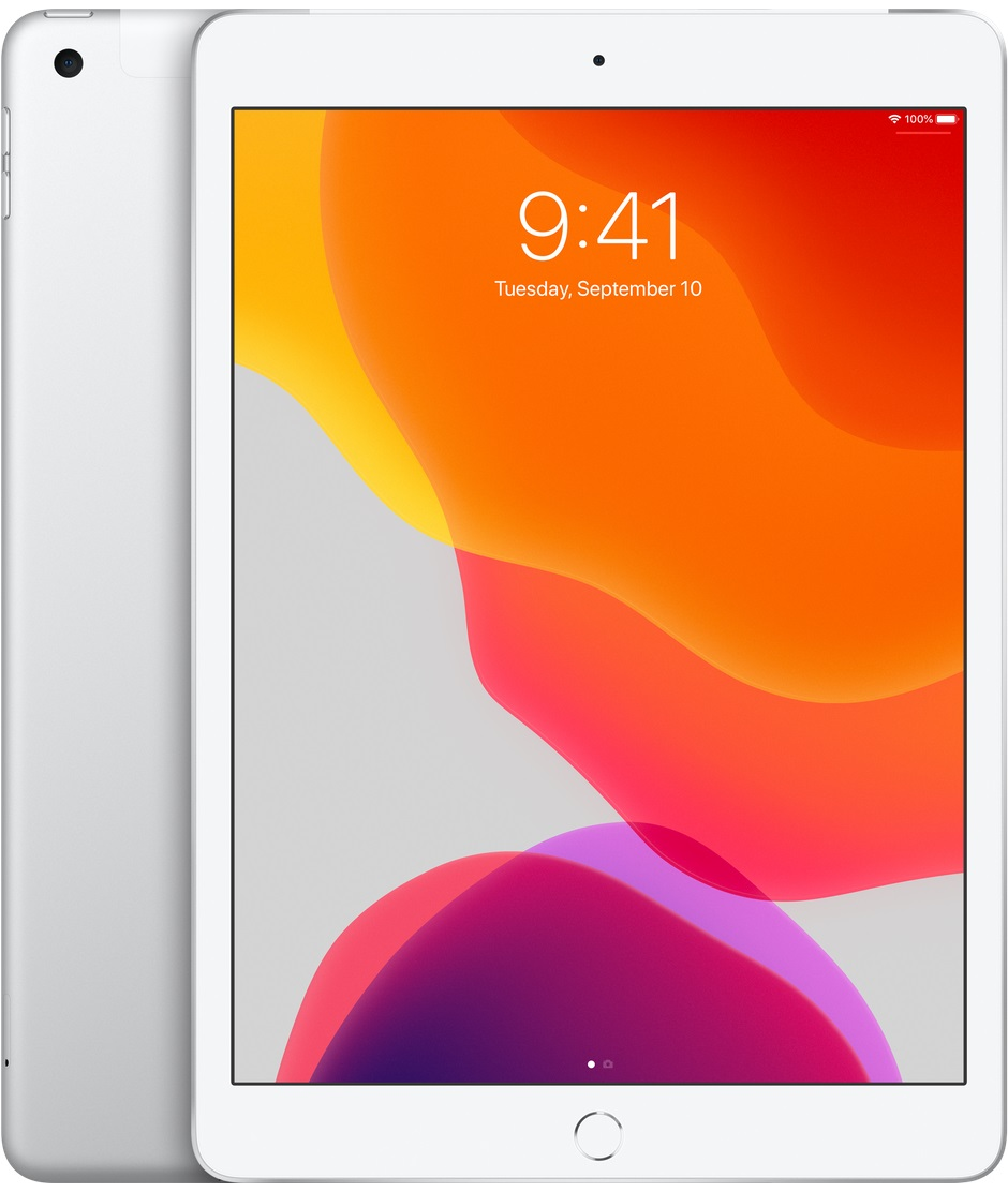 iPad Wi-Fi + Cell 128GB - Silver