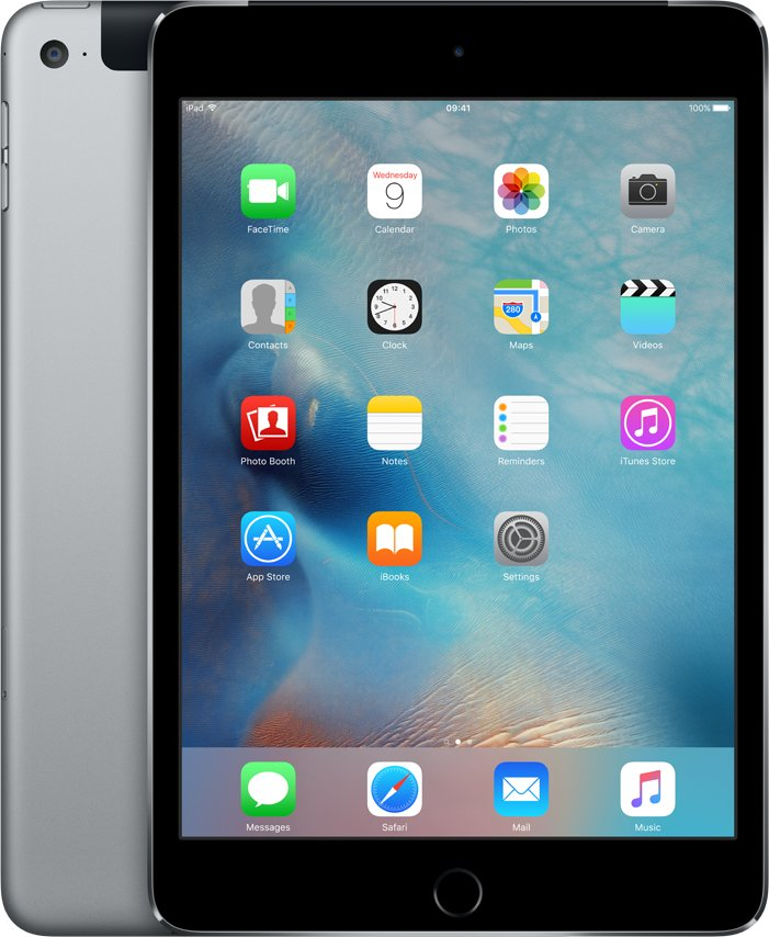 iPad mini 4 Wi-Fi Cell 16GB Space Gray