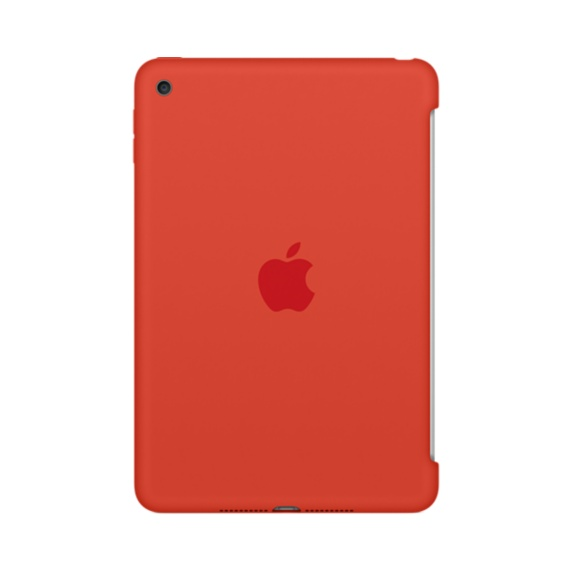 iPad mini 4 Silicone Case Orange