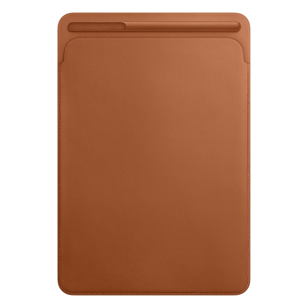 iPad Pro 10,5'' Leather Sleeve - Saddle Brown
