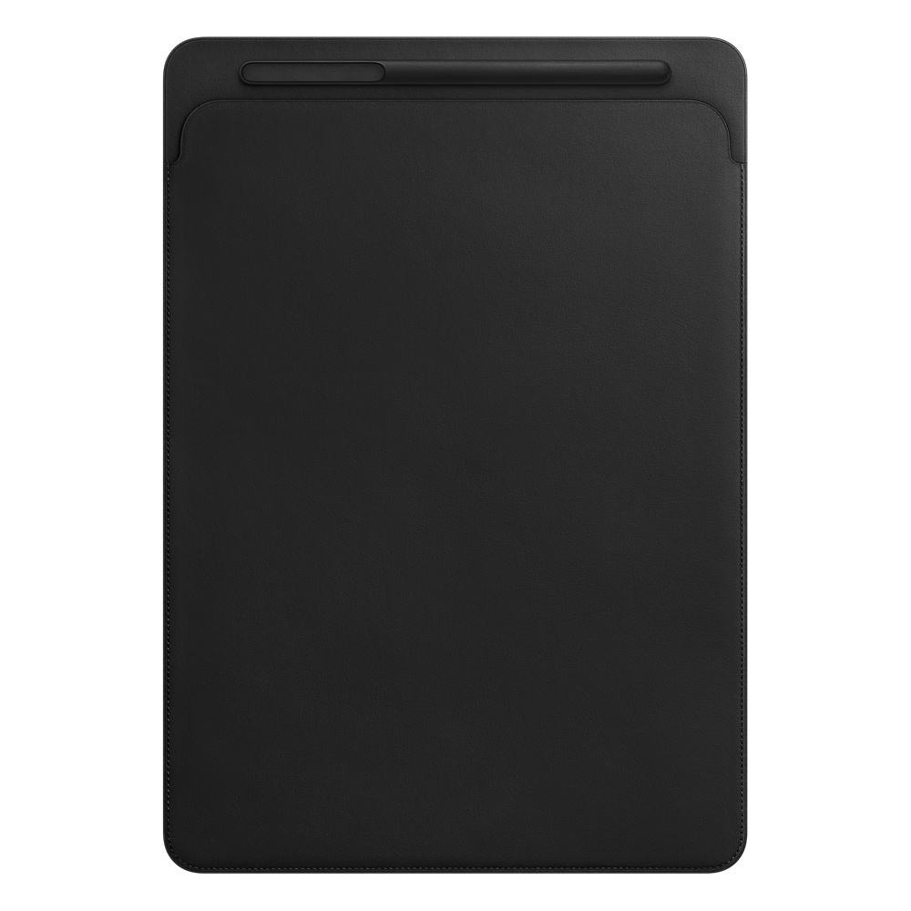iPad Pro 12,9'' Leather Sleeve Black