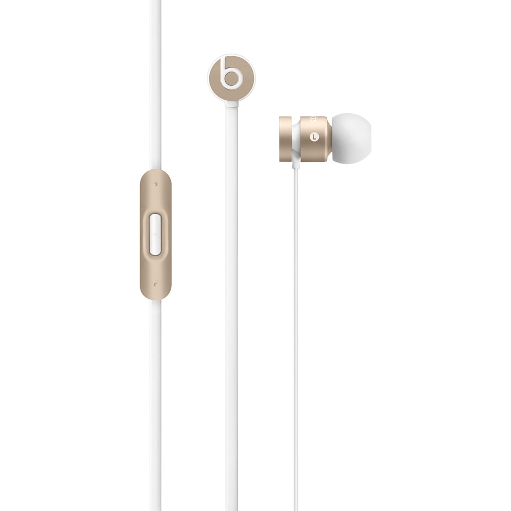 Beats urBeats In Ear Headphones - Gold