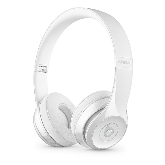 Beats Solo3 Wireless On-Ear Headphones - Gl. White