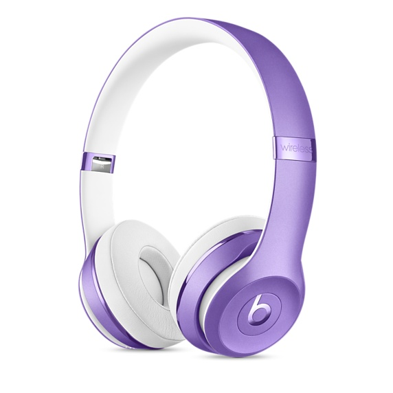 Beats Solo3 Wireless On-Ear Headphones-Ult. Violet