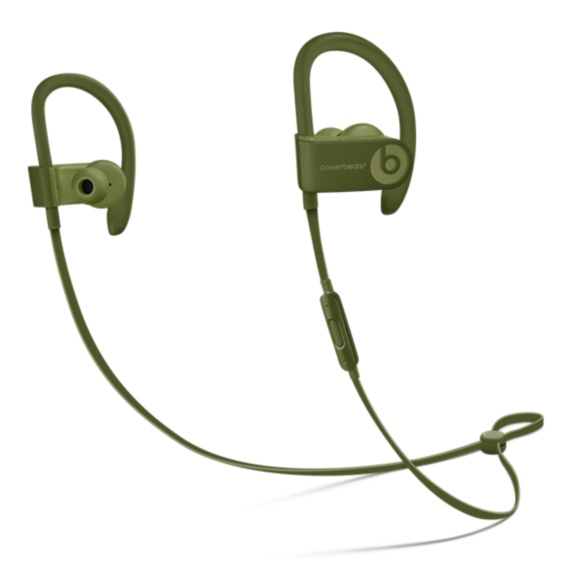 Powerbeats3 Wireless Earphones - NC- Turf Green