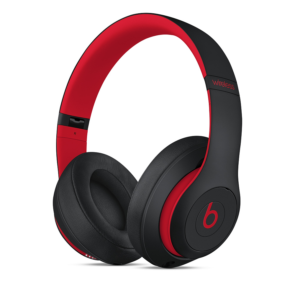 Beats Solo3 Wireless Over-Ear HP Defiant Black-Red