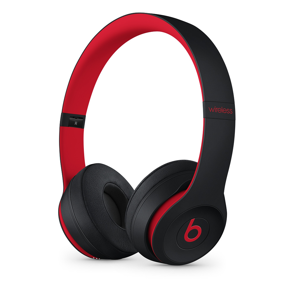 Beats Solo3 Wireless On-Ear HP Defiant Black-Red
