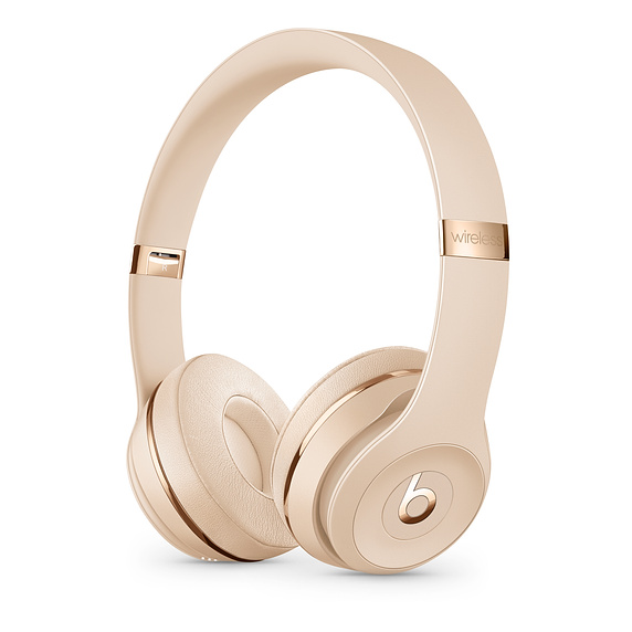 Beats Solo3 Wireless On-Ear HP - Satin Gold
