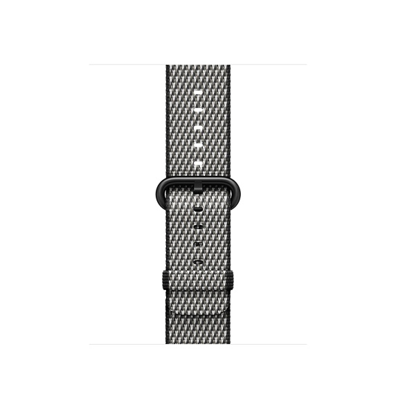 Watch Acc/42/Black Check Woven Nylon