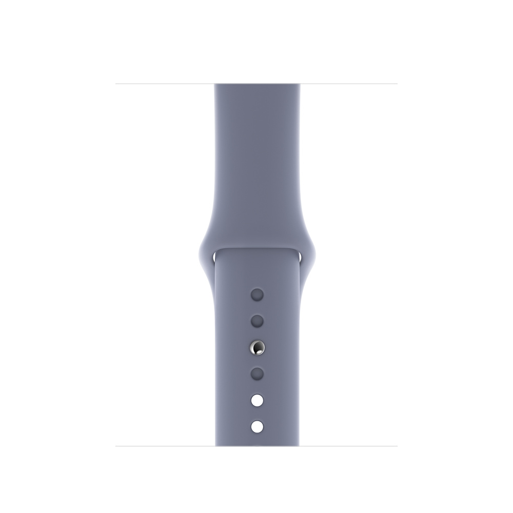 Watch Acc/44/Lavender Gray Sport Band S/M & M/L
