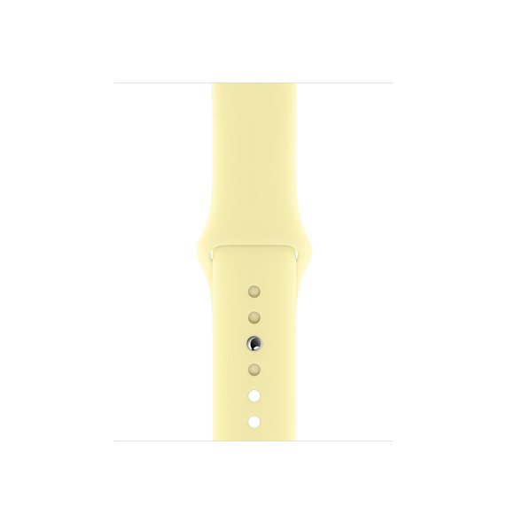 Watch Acc/44/Mellow Yellow Sport Band