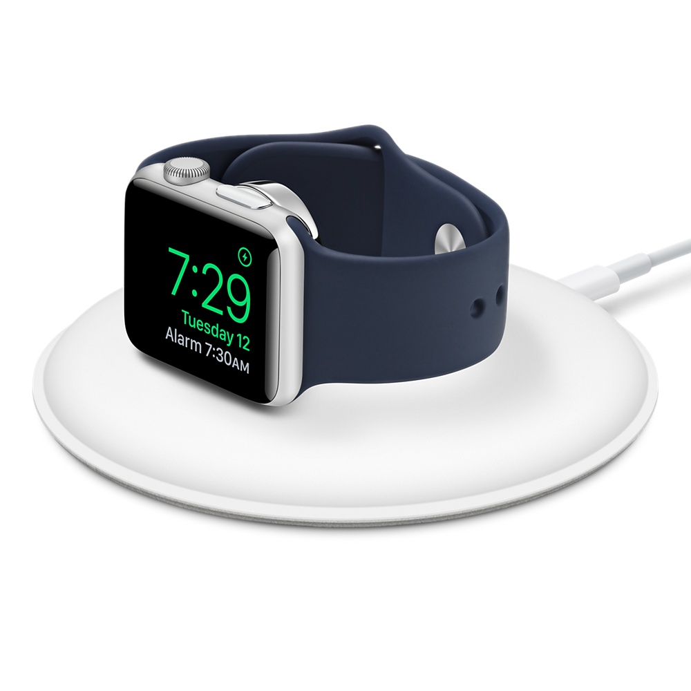 Watch Acc/Watch Magnetic Charging Dock/White