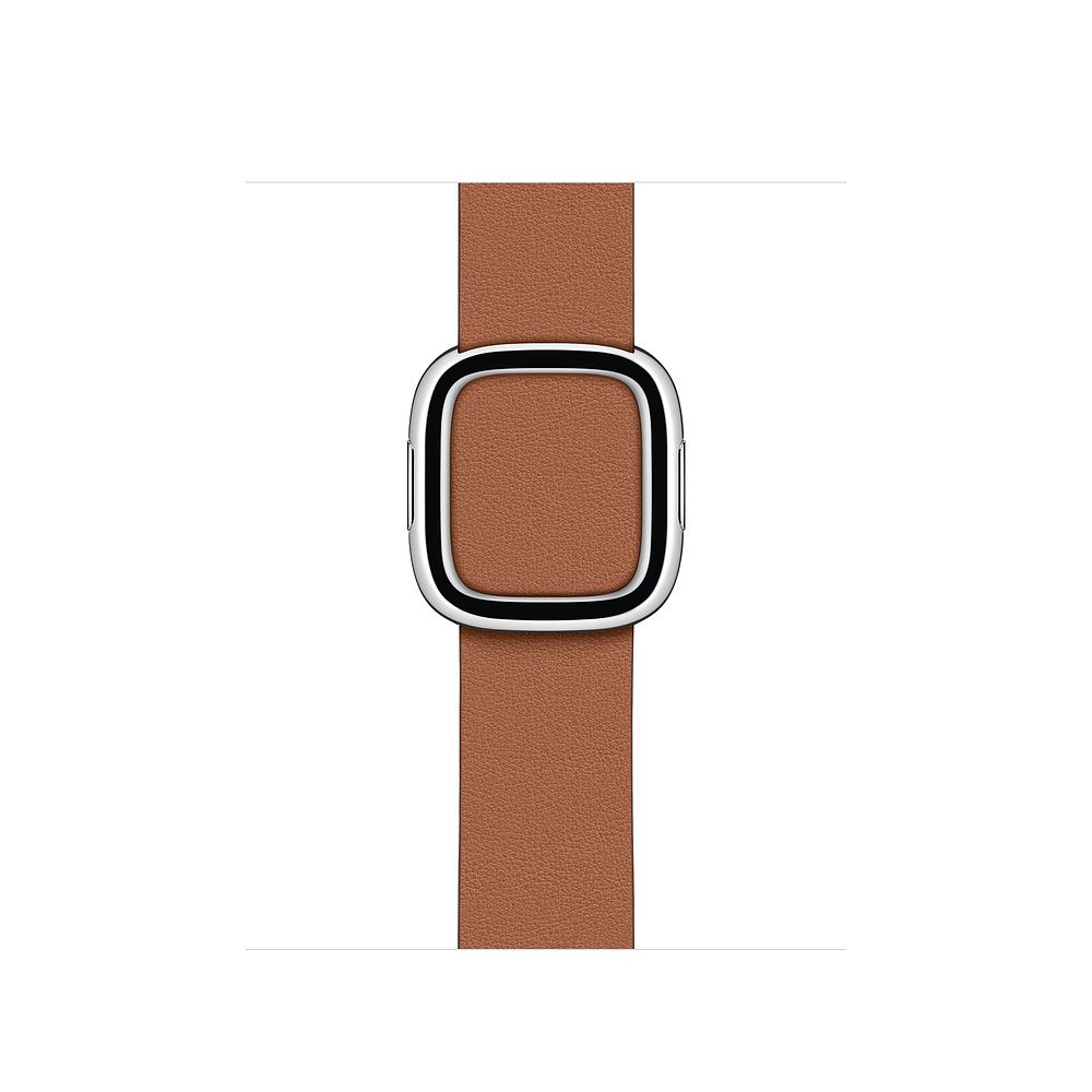 Watch Acc/40/Saddle Brown Modern Buckle - Medium
