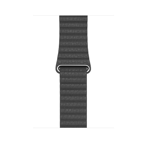 Watch Acc/44/Black Leather Loop - Large