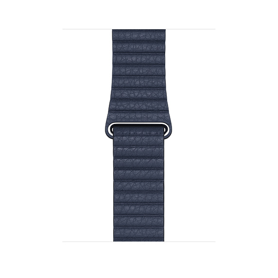 Watch Acc/44/Diver Blue Leather Loop-Med