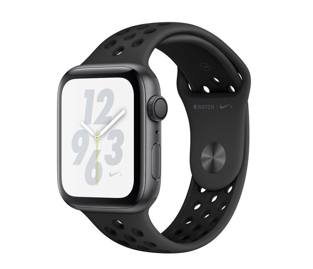 Watch Nike+, S4, 40mm, Sp Grey/Ant+Black Nike Band