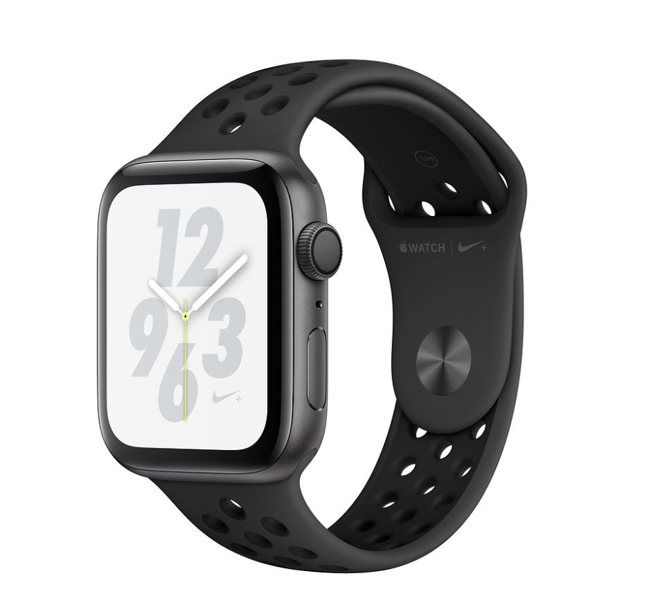 Watch Nike+, S4, 44mm, Sp Grey/Ant+Black Nike Band